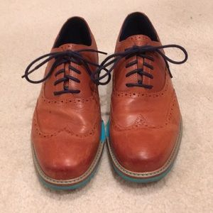 Men's Cole Haan leather loafers 8